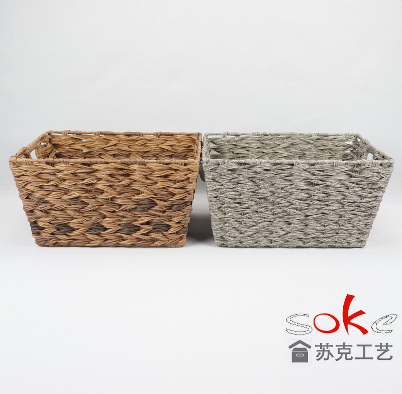 China pe rattan storage basket suppliers